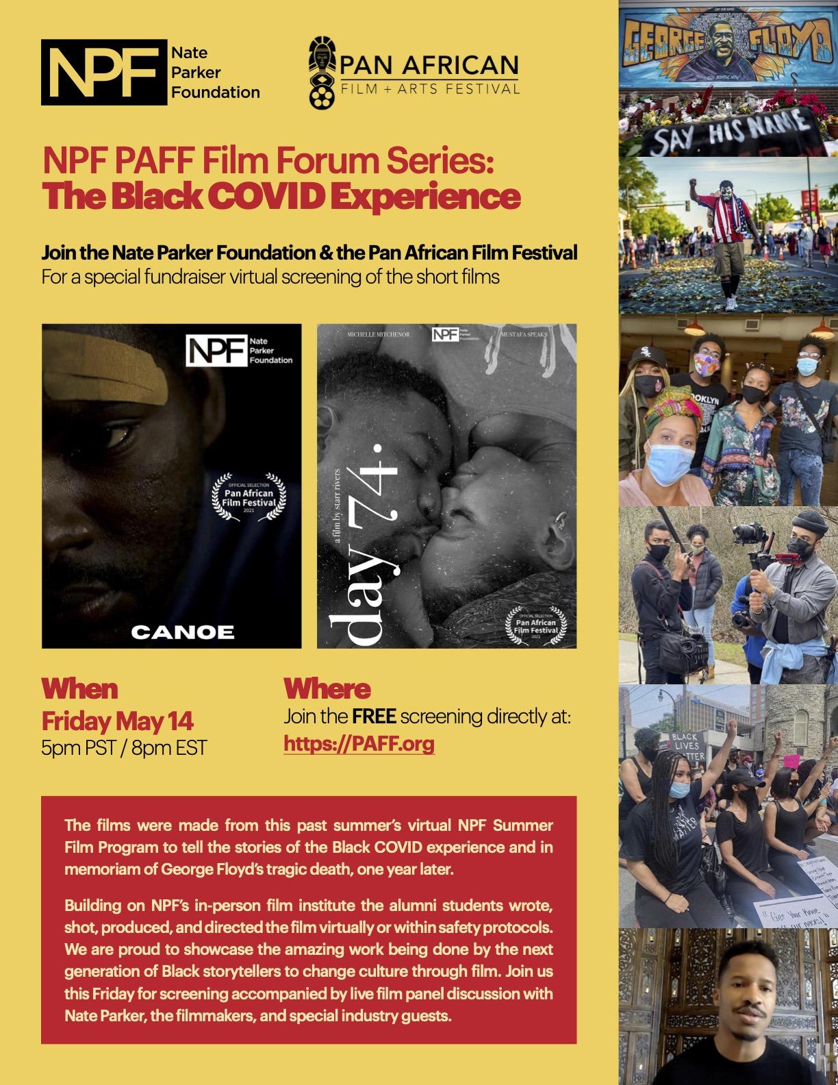 Nate Parker Foundation
